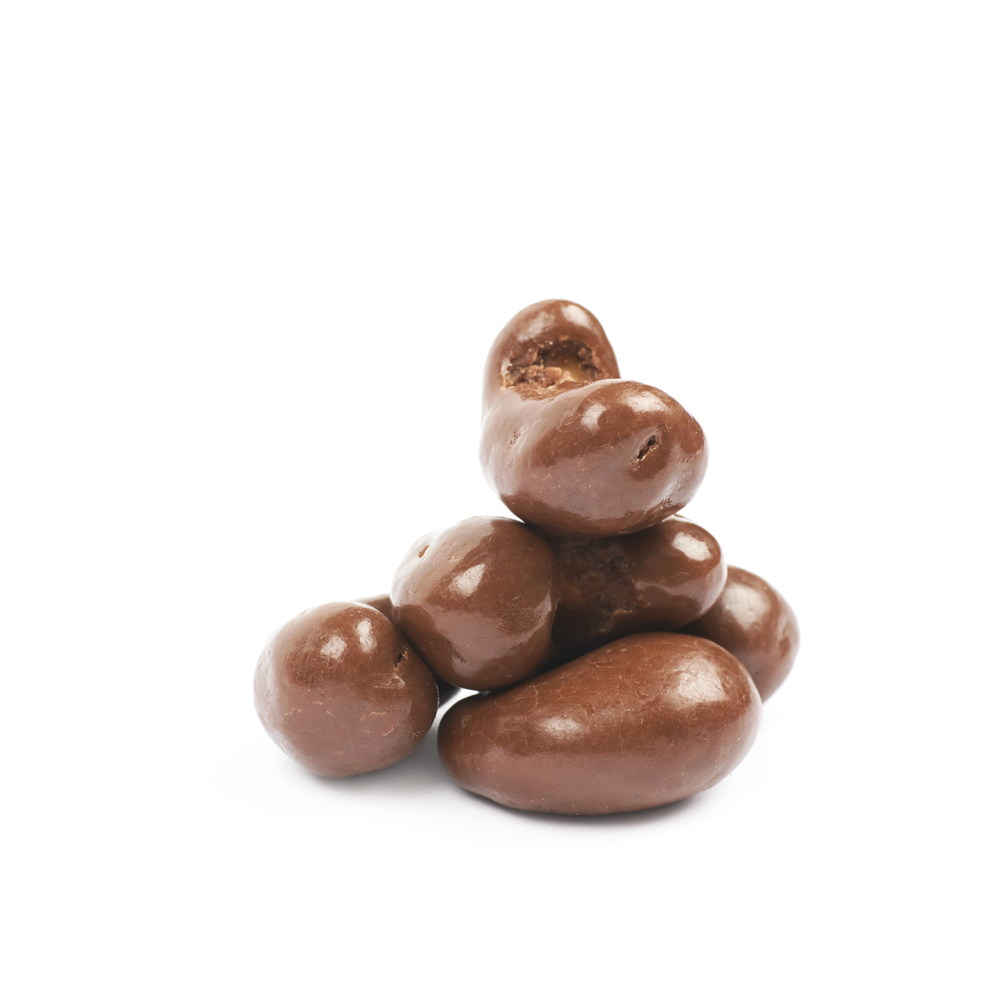 Private label chocolate enrobed nuts